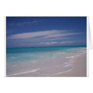 The Turks Caicos - the Beach Cards