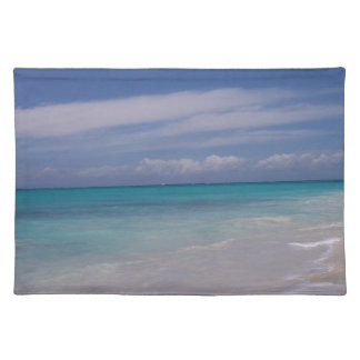 The Turks & Caicos - the Beach! Placemat