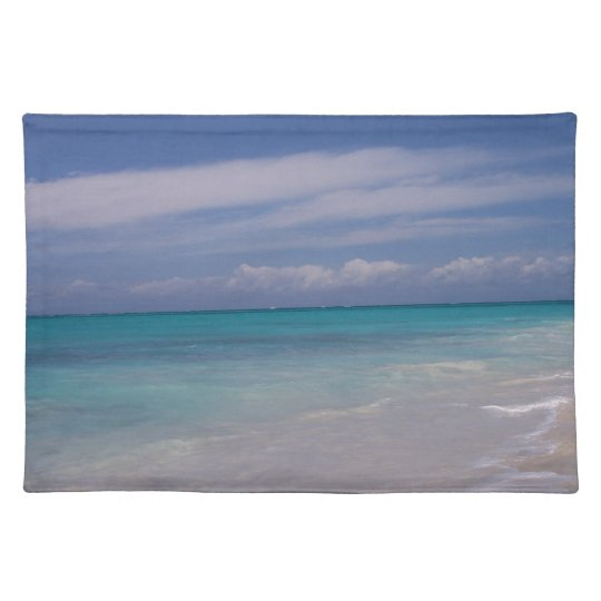 The Turks & Caicos - the Beach! Placemats
