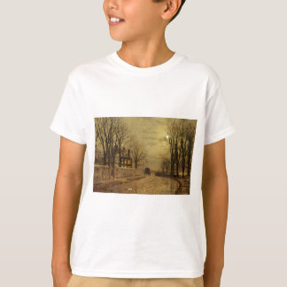 The Turn of the Road by John Atkinson Grimshaw T-Shirt