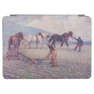 The Turn-Rice Plough, c.1909 (oil on canvas) iPad Air Cover