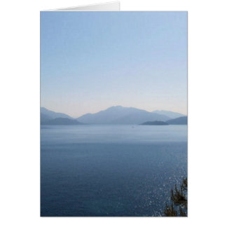 The Turquoise Coast Greeting Card