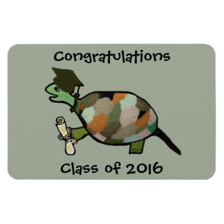 The Turtle Grad Premium Magnet