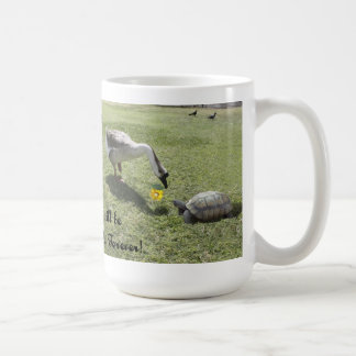 The Turtle & The Goose (w/Text) Mug