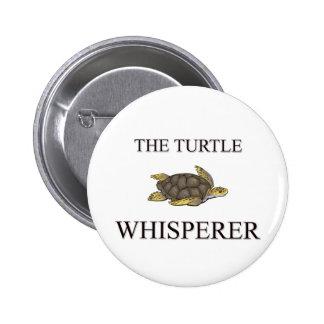 The Turtle Whisperer 6 Cm Round Badge