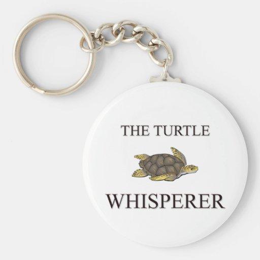 The Turtle Whisperer Key Chain