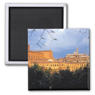 The Tuscan village of Sienna Italy Refrigerator Magnets