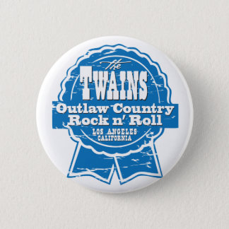 The TWAINS beer drinkin' button! 6 Cm Round Badge