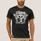 The TWAINS Skull n' Horseshoe t-shirt! T-Shirt