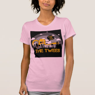 The Twees Womens Fitted t-shirt