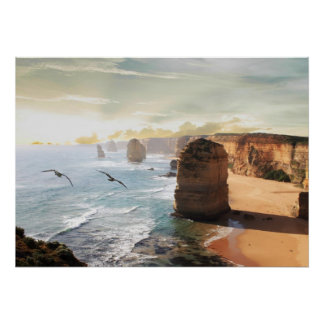 The Twelve Apostles Australian Ocean View Poster