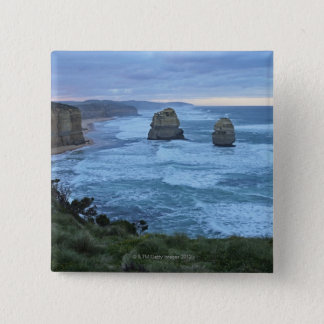 The Twelve Apostles, Great Ocean Road 15 Cm Square Badge