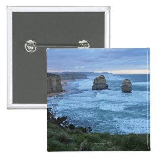 The Twelve Apostles, Great Ocean Road 15 Cm Square Badge