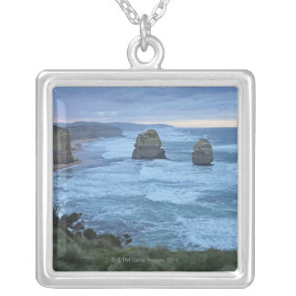 The Twelve Apostles, Great Ocean Road Silver Plated Necklace