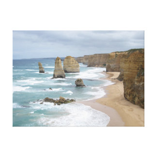 The Twelve Apostles, Victoria, Australia Stretched Canvas Print