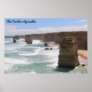 The Twelve Apostles, Victoria, Australia Posters