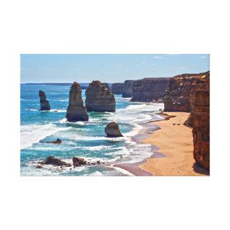 The Twelve Apostles, Victoria, Australia Stretched Canvas Prints