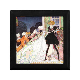 The Twelve Dancing Princesses by Kay Nielsen Small Square Gift Box