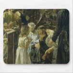 The Twelve-Year-Old Jesus in the Temple, 1879 Mouse Mat