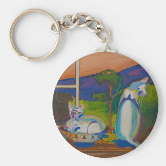 The Twevils-Pinky&Bleu Keychain