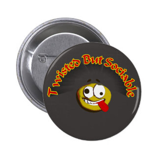 The Twist 6 Cm Round Badge