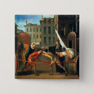 The Two Coaches, a scene added to the comedy 'The 15 Cm Square Badge