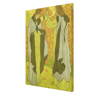 The Two Graces, 1895 Canvas Print