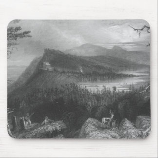 The Two Lakes and the Mountain House Mouse Pad