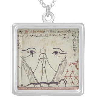 The two mystical eyes, from the Tomb of Silver Plated Necklace