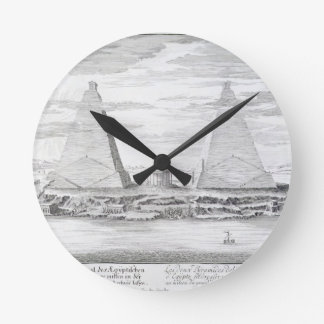 The Two Pyramids of Moeris, King of Egypt and his Wallclocks
