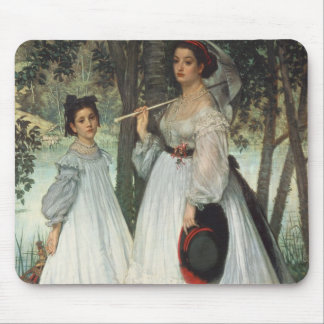 The Two Sisters: Portrait, 1863 Mouse Mat