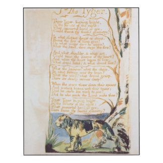 The Tyger, from Songs of Innocence
