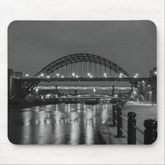The Tyne Bridge at Night Mouse Mat