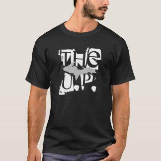 """The U.P."" Black Upper Peninsula t-shirt"