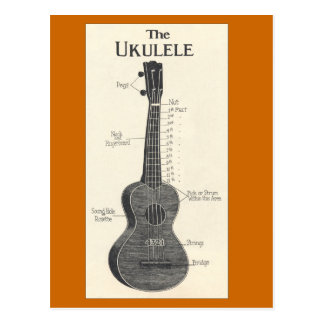 The Ukulele Postcard