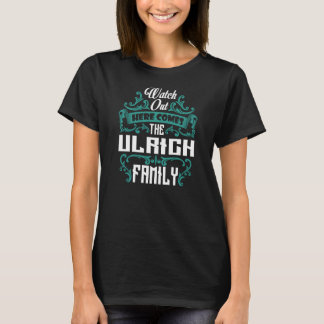 The ULRICH Family. Gift Birthday T-Shirt