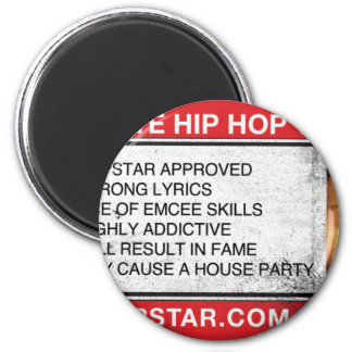 The Ultimate Hip-Hop Video Game 6 Cm Round Magnet