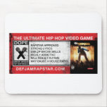The Ultimate Hip-Hop Video Game Mousepad