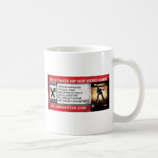 The Ultimate Hip-Hop Video Game Basic White Mug