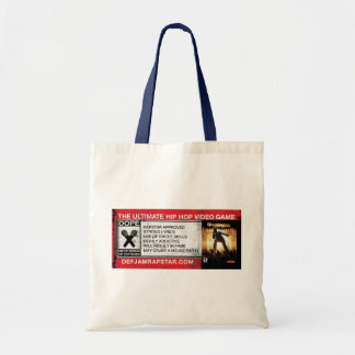 The Ultimate Hip-Hop Video Game Budget Tote Bag
