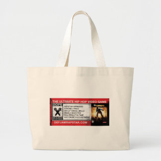 The Ultimate Hip-Hop Video Game Jumbo Tote Bag