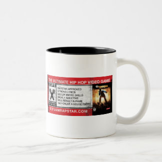 The Ultimate Hip-Hop Video Game Two-Tone Coffee Mug