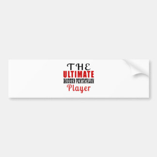 THE ULTIMATE MODERN PENTATHLON FIGHTER BUMPER STICKER