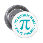 The Ultimate Pi Day 2015 Pinback Button