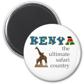 The Ultimate Safari Country Fridge Magnets