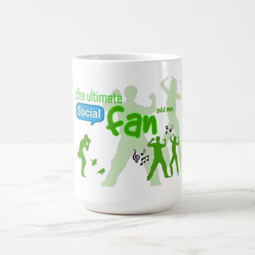 """The Ultimate Social Fan"" game mug - add me!"