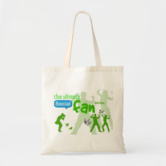 The Ultimate Social Fan game tote bag - add me