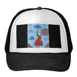 The Umbrella Girl Mesh Hat