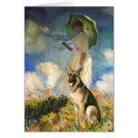 The Umbrella - (replace) - German Shepherd Card