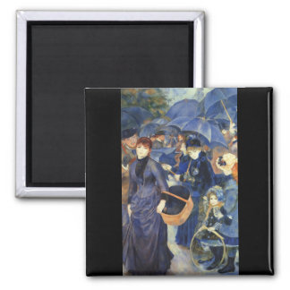 The umbrellas by Pierre Renoir Magnet